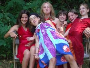 Girls from Rite of Passage Journeys